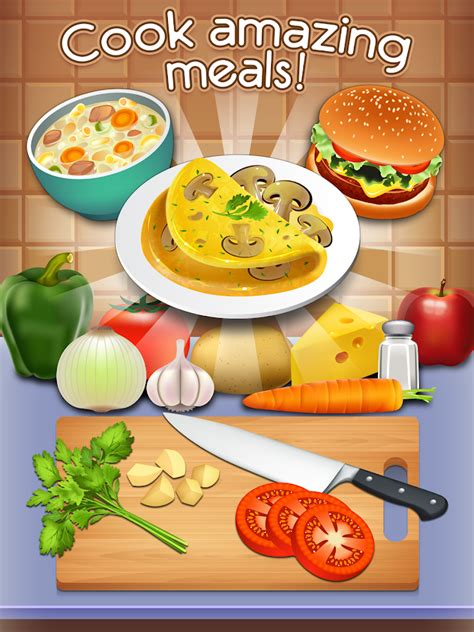 cuisine simulation cookbook master be the chef android apps on play