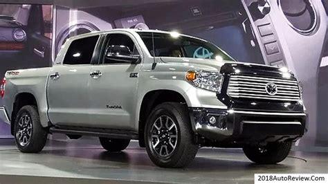 2019 Toyota Tundra Redesign 2018autoreviewcom