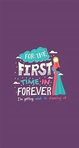 For the first time and Forever - mobile9 #FrozenWallpaper ...