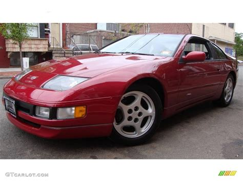 1994 cherry red pearl metallic nissan 300zx coupe