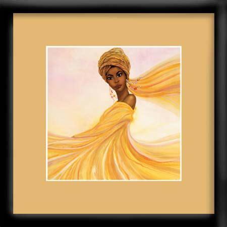 niyaecom golden dancer dexter griffin framed african american art