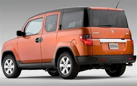 2010 Honda Element Ground Clearance Specs