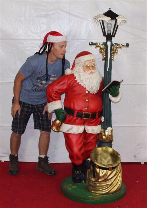holiday santa prop lets party