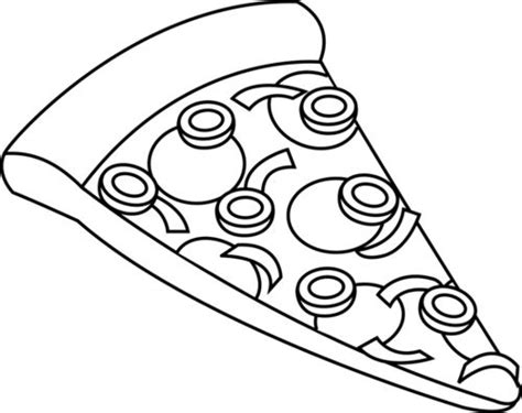 pizza clipart black and white pizza black and white clipart clipart