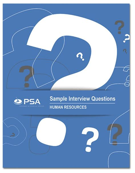 interview guide - PSA Insurance and Financial Services