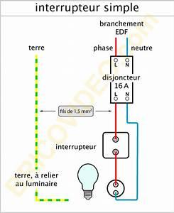 forum electricite conseils branchement electrique With porte d entrée pvc avec eclairage miroir salle de bain avec interrupteur et prise