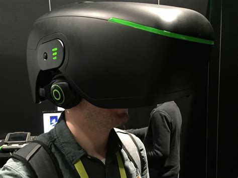 3dhead Takes On Oculus, Might Be Strangestlooking Virtual Reality System Yet Techeblog
