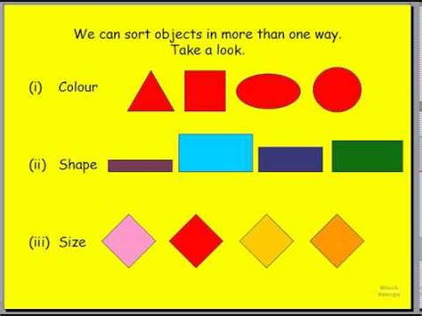 grade  math sorting  patterning part  youtube