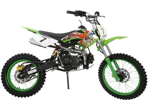 second hand motocross bikes on finance pit bike 125cc fx 125f green pitbull
