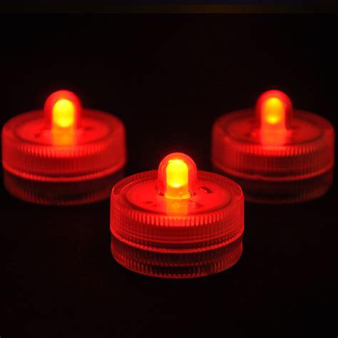 led tea lights 10pcs new waterproof wedding underwater battery sub led