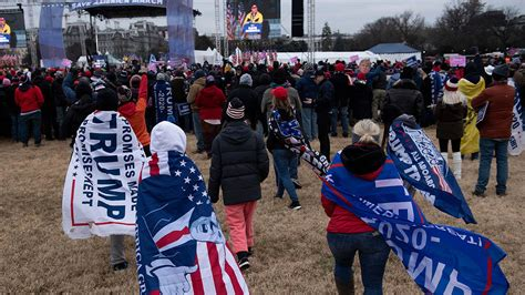 Trump Supporters Rally Near White House Awaiting President ...