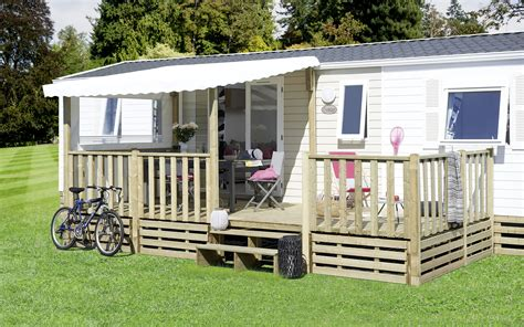 coverluxe terrasse pour mobile home couverte semi