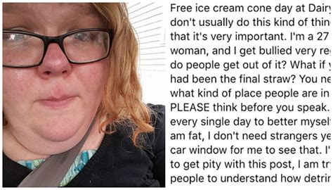 Woman Shares Fat Shaming Story And Gets The Most