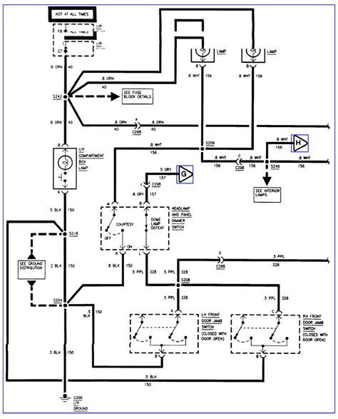 1997 Gmc Suburban Light Wiring Diagram by A Suburban Slt Wiring Diagram For 95 A Wiring