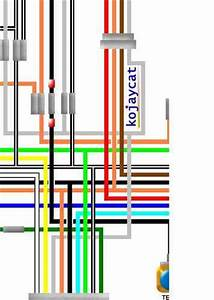 Suzuki Gt750 Colour Electrical Wiring Diagrams