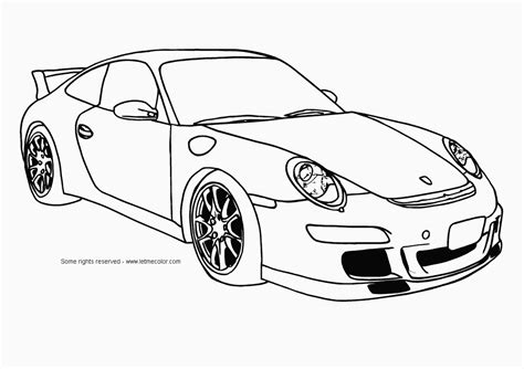 Popular Colouring Pictures Of Cars Car Coloring Pages For