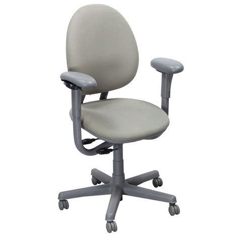 steelcase criterion used high back series task chair pale