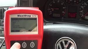How I Reset My Vw Airbag Light Golf Mk4 01218 Fault Code