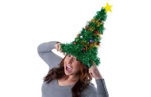 gigantic light up christmas tree hat the green head
