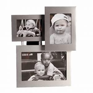 Großer Bilderrahmen Für Mehrere Bilder : aluminium bilderrahmen 3 d f r 3 bilder 10x15 9x6 5 und 8x5 5 cm ebay ~ Bigdaddyawards.com Haus und Dekorationen