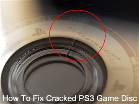 How To Fix Ps3 Cracked Game Disc In Middle  How To Fix