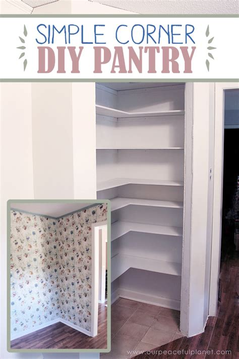 add space convenience   simple diy pantry diy