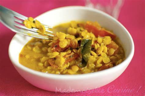 cuisiner pois gourmands dal de lentillles ou dahl recette de cuisine