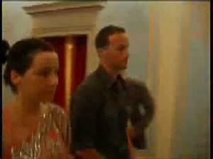 Bjork in Italy with Matthew Barney - YouTube