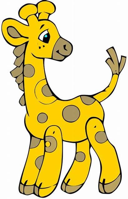 Clip Animal Clipart Giraffe Stuffed Drawing Plush