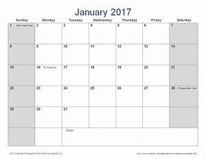 Word calendar template for 2016 2017 and beyond for 2017 word calendars
