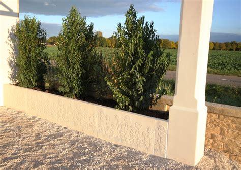 zäune beton sichtschutz la cl 244 ture en b 233 ton avec murs et murets pr 233 fabriqu 233 s