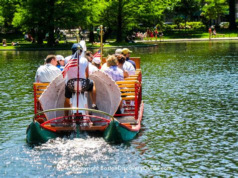 Swan Boats Fenway Park by Boston Swan Boats Top Attraction Boston Discovery Guide