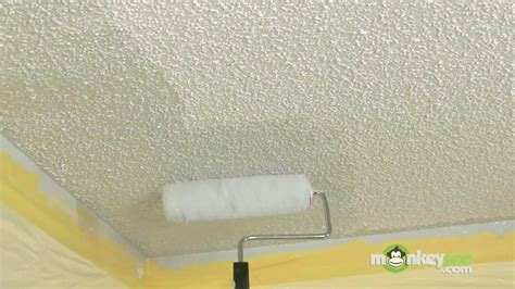 textured ceiling painting tips youtube