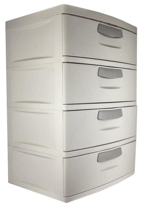 Cabinet Storage Drawers by Plastic 4 Drawer Cabinet Storage Organizer Home Office