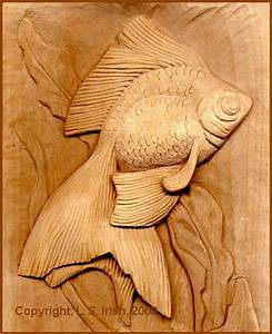 Free Online Relief Wood Carving Projects by L S Irish