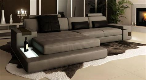canape d angle design contemporain canapé d 39 angle en cuir design avignon