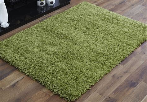 lime green rug large lime green 110x160cm size modern thick soft shaggy 3799