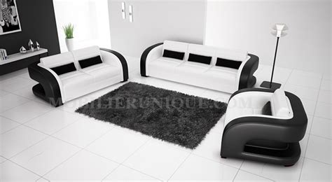 ensemble de canapé ensemble canapé cuir italien design et pas cher modèle