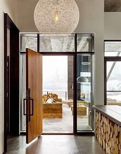 une maison rustique modernisee dans lesprit eclectique With maison en beton coule 0 le beton cire dans tous ses etats