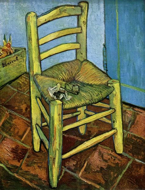 vincent gogh s chair thenewcomer s weblog