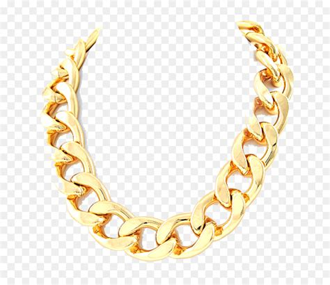 Necklace Earring Gold Chain - Thug Life Gold Chain PNG