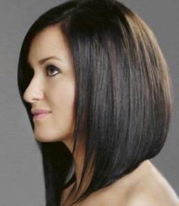 Carré Mi Long Plongeant : coiffure femme carr plongeant mi long https tendances ~ Dallasstarsshop.com Idées de Décoration