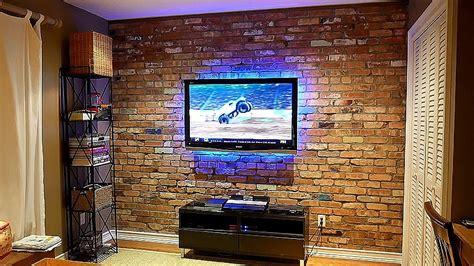 build  exposed brick veneer   interior wall