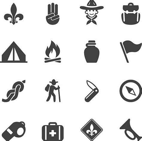 Boy Scouting Clipart In Black And White & Free Clip Art ...