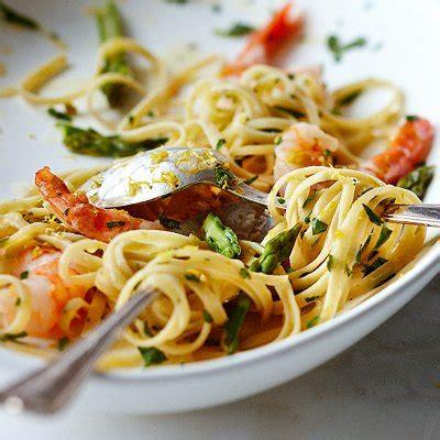 fettucines aux crevettes  litalienne chatelaine