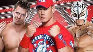 The Miz,John Cena,Rey Mysterio - WWE Photo (22569486) - Fanpop