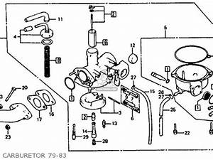 Honda Atc110 1979  Z  Usa Parts List Partsmanual Partsfiche