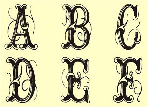 monogram stencils printable fancy fonts alphabet monogram stencil  printable monogram