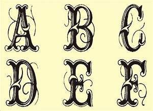 free monogram templates free monogram stencils printable With monogram letter stencils free
