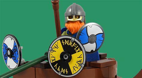 LEGO Collectible Minifigures Series 20 vignettes: Viking
